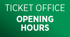 Ticket office opening hours