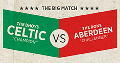 Celtic v Aberdeen 1st March