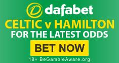 Celtic v Hamilton - Dafabet