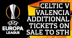 Celtic v Valencia