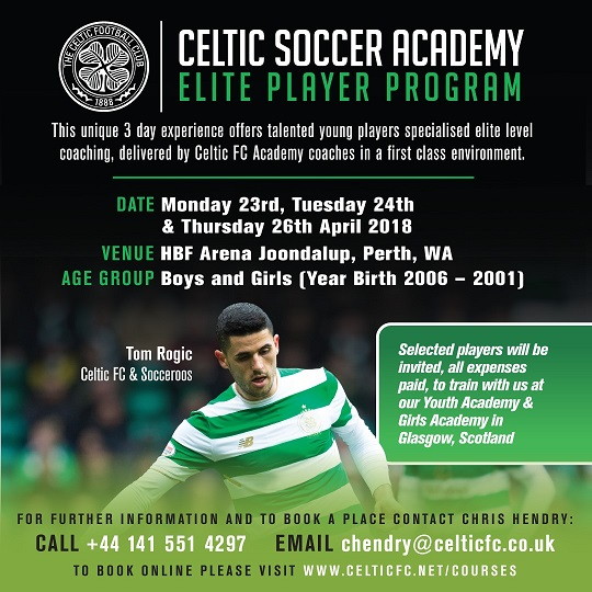 Elite Player Program- Australia