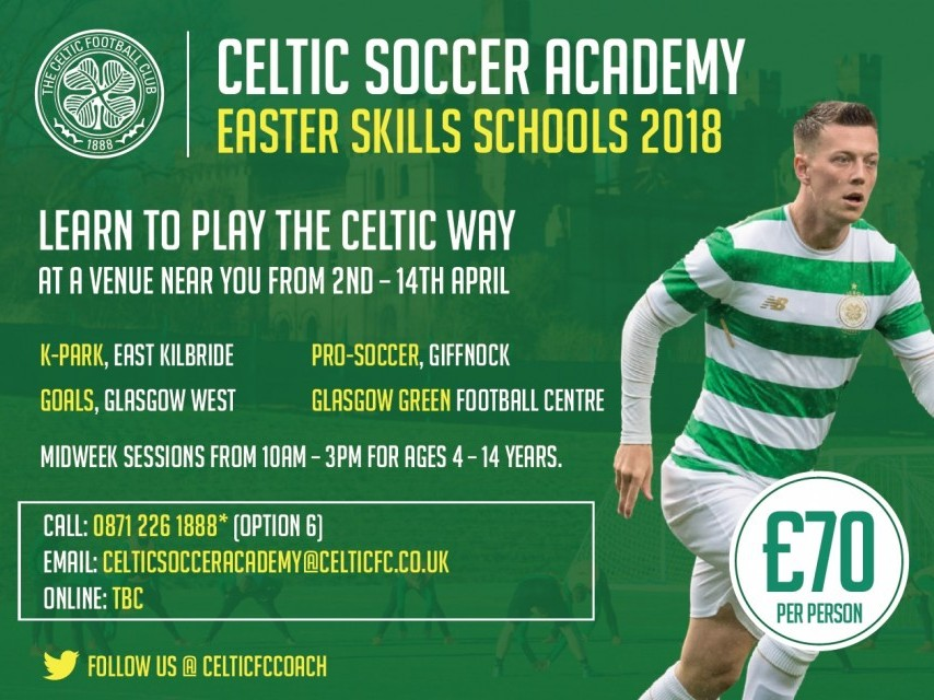 Easter Skills School- Clydebank