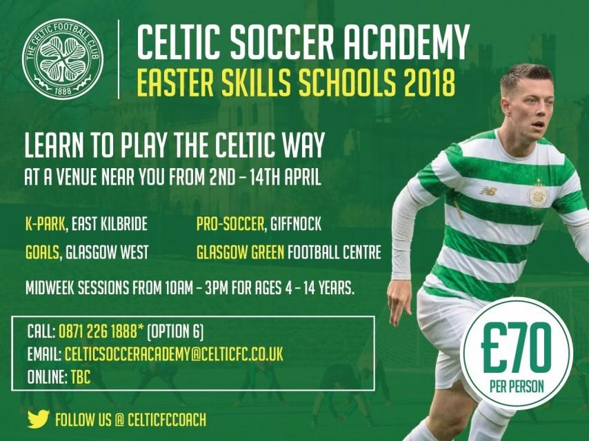 Easter Skills School- East Kilbride