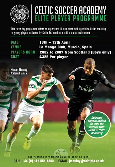 Elite Player Programme- Spain