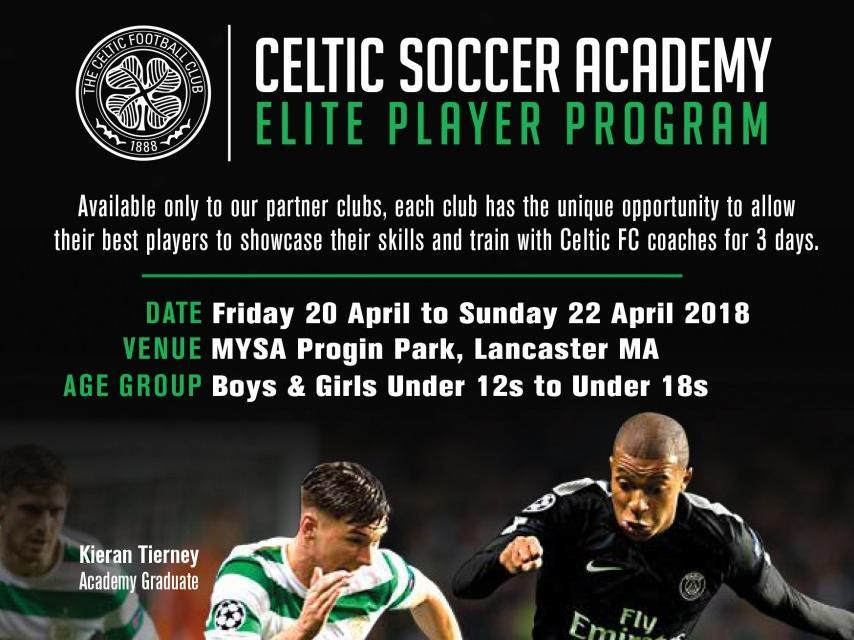 Elite Player Programme - Boston