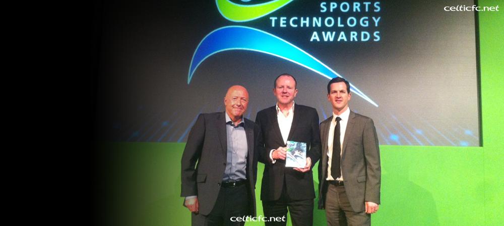 Celtic Park WiFi wins prestigious UK award